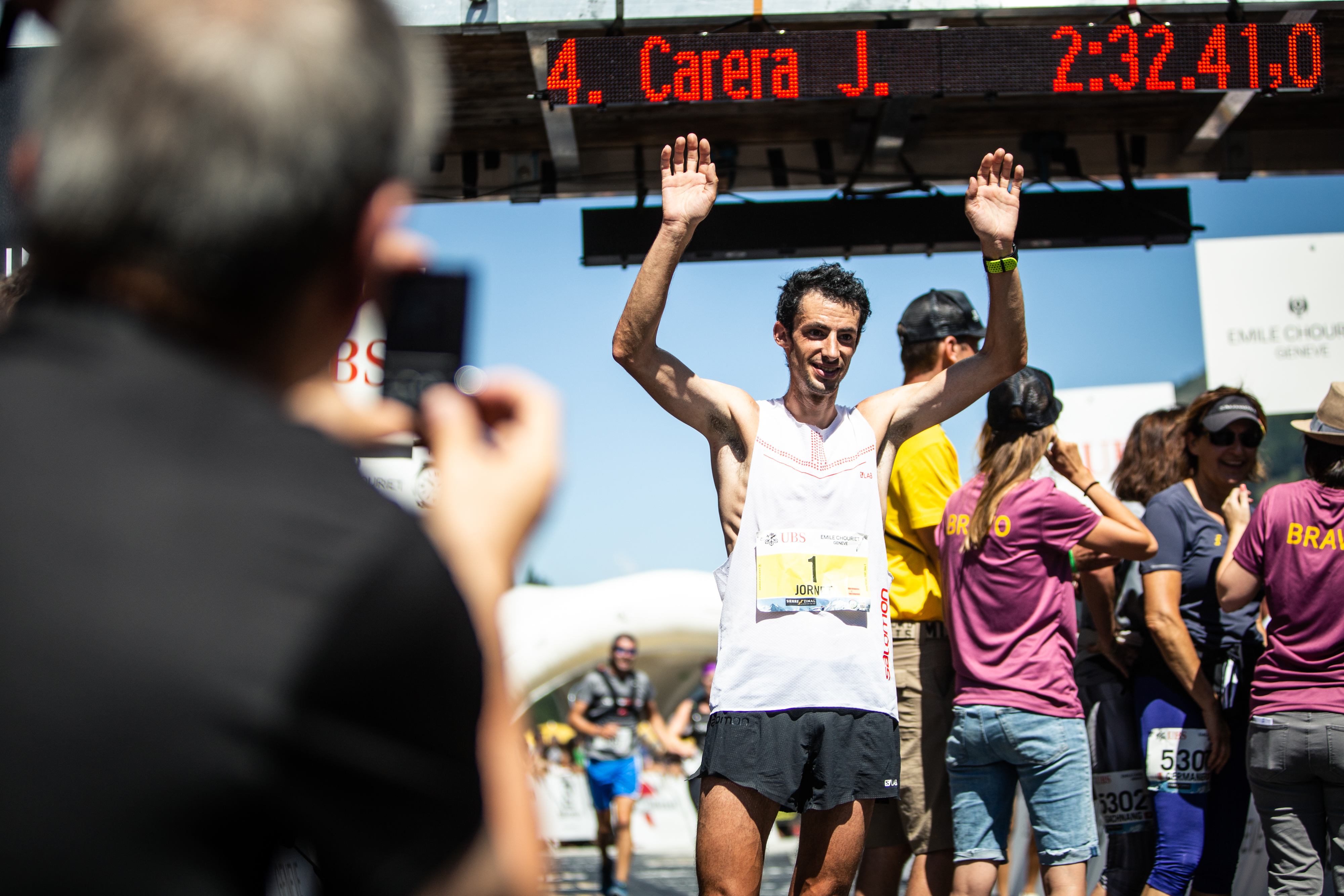 Kilian Jornet smashes the record at Sierre-Zinal