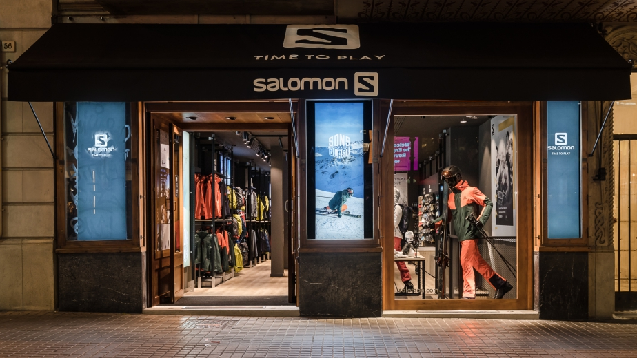 Salomon opens its new Brand Store in Barcelona